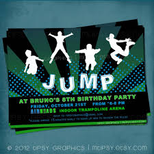 jump party invitations invitation card gallery jump party invitations jump trampoline or bounce house birthday party invite mtipsy