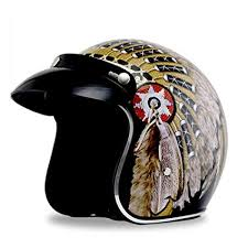 MMRLY <b>Retro Harley Helmet Motorcycle</b> Personality Half Helmet3/4 ...