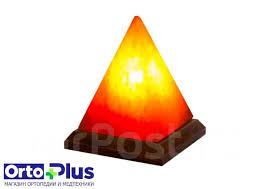 <b>Солевая лампа STAY</b> GOLD Пирамида около 2,5 кг ...