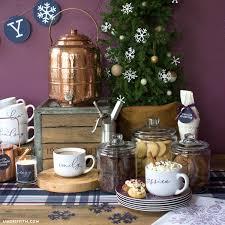 <b>DIY</b> Cookie and Hot Chocolate <b>Bar</b> - Lia Griffith