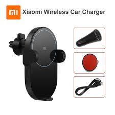Original <b>Xiaomi Mi 20W</b>/10W <b>Max Qi</b> Wireless Car Charger ...