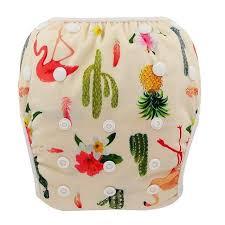 Ohbabyka <b>Baby</b> Swim <b>Diaper</b> Waterproof <b>Adjustable Cloth Diapers</b> ...
