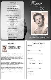 17 best images about printable funeral program templates on create an everlasting keepsake of your loved one edit the template easy print ready borderless x 11 paper for microsoft word trial expert support