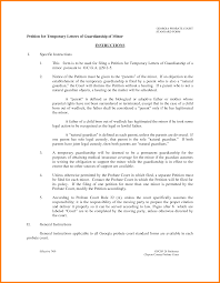 sample letters of temporary guardianship ledger paper 12 sample letters of temporary guardianship