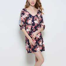 <b>New Spring</b> Summer <b>Women Dress</b> 2017 Casual <b>Ladies</b> Half ...