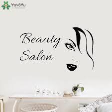<b>YOYOYU</b> Wall Decal Beauty Salon <b>Vinyl Art</b> Wall Sticker Fashion ...