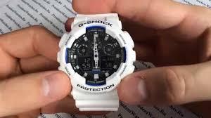 Как настроить <b>часы Casio G</b>-SHOCK <b>GA</b>-100B-7A - видео ...