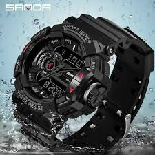 2019 <b>SANDA</b> Military Men's Watch <b>Top Brand Luxury</b> Waterproof ...
