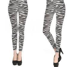 Women Leggings Pants <b>Elastic</b> Zebra Fashion <b>Summer Thin</b> Printing