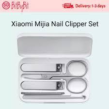 Xiaomi <b>Mijia Nail Clipper</b> Set Earpick Trimmer Manicure Pedicure ...