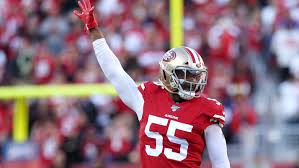49ers lineman Dee Ford will <b>face</b> former team in Super Bowl LIV.