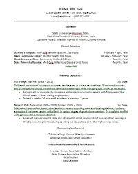 new grad nurse resume nursing resume for new grad