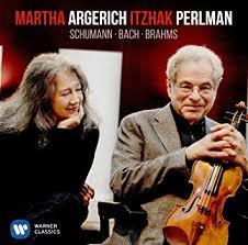 <b>Martha Argerich</b> and <b>Itzhak</b> Perlman - Bach & Schumann - Amazon ...