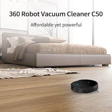 <b>360</b> Robot <b>Vacuum</b> Cleaner <b>C50</b> - <b>360 Smart</b> life