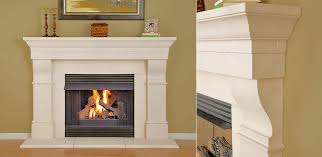 Craig Stone Fireplace Mantel