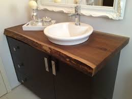 walnut bathroom vanity modern ridge:  stylish different types of bathroom countertops kitchen ideas and bathroom countertop