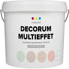 Декоративное <b>Покрытие Vincent Decorum</b> Multieffet <b>D2</b> 18кг ...