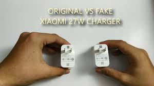 <b>original</b> vs fake <b>xiaomi</b> 27w <b>charger</b>. beware of fake one!