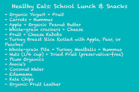 Image result for back to school lunch ideas