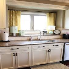 Large Kitchen Window Treatment Kitchen Window Curtain Ideas Kitchen Window Treatments On