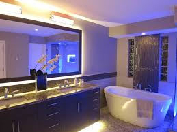 blue led ceiling light accent bathroom light wall mount ambient light double undermount sinksimple bathtub bathroom lighting ideas ceiling