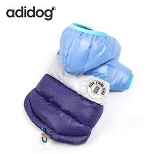 2018 Winter <b>Pet Dog Clothes For</b> Small Medium Dogs Thick Wram ...