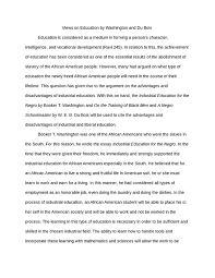 views on education by washington and du bois philosophy essay  views on education by washington and du bois essay example college essay philosophy