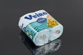 "Купить <b>Бумага туалетная</b> ""<b>Veiro</b>"" <b>Luxoria</b> белая 3-сл. (8 рул.) арт ..."