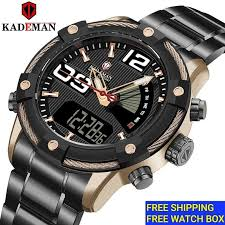 <b>Kademan</b> Stainless Steel Watch Original Price & Promotion - May ...