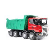 Игрушка Bruder Scania мусоровоз <b>Orange</b> 03-560 - Агрономоff