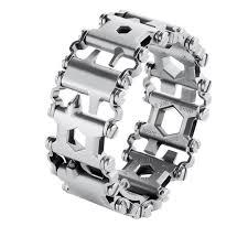 Man Outdoor Spliced Bracelet <b>Multifunctional</b> Wearing Screwdriver ...