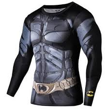DC Comic Universe Batman Armour Suit (Long Sleeved T-shirt ...