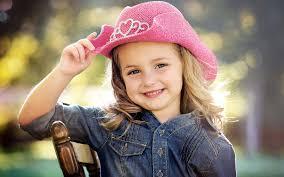 stylish cute baby girl beautiful smiling face baby girl