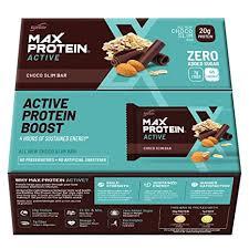 Rite <b>Bite</b> Max Protein Energy Bar - 804 G (Choco <b>Slim</b>, Pack Of 12 ...