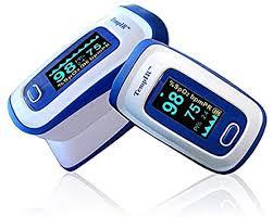 <b>Finger</b> Pulse <b>Oximeter</b> Deluxe Model <b>Digital</b> Blood Oxygen and ...