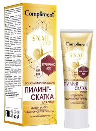 Купить Compliment <b>пилинг</b>-<b>скатка для лица</b> Snail Vital ...