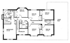 2886 square feet 6 bedrooms 4 batrooms 2 parking space on 2 bedroom house plans