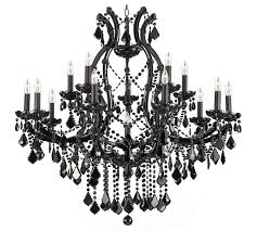 a83 black21510151 gallery maria theresa jet black crystal chandelier black crystal chandelier lighting