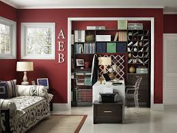 view in gallery sparkling contemporary home office with white trims and maroon walls design capital closets bunk bed home office energy