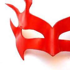 Leather Mask Fire Flames <b>Blaze</b> Inferno Red Burning Man Sun ...