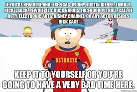 If you're new here and like 9gag, iFunny, Justin Bieber, Tumblr ... via Relatably.com