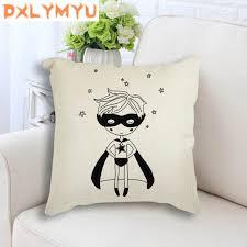 Throw Pillow Case Custom Name <b>Dream Big Super Hero</b> Batman ...