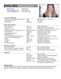 create your own acting resume sample customer service resume create your own acting resume your actor resume format your resume even no acting resume