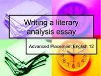 how to write a literary analysis essay   think smart  how to write a literary essay well hints to take into account