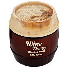 Holika <b>Holika Wine Therapy Sleeping</b> Mask (Red Wine) ingredients ...