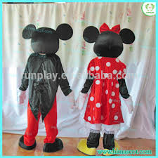 Source HI CE movie character <b>Mickey minnie</b> mascot costume for ...