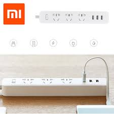 Original <b>for Xiaomi</b> Mi <b>Smart</b> Power Socket <b>Portable</b> Strip Plug ...