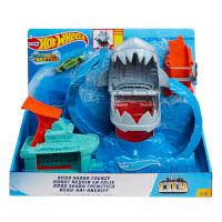 Hot Wheels - City Robo Shark Playset - Bliss Distribution