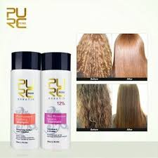 New <b>PURC</b> 12% <b>formalin keratin</b> hair treatment and purifying ...