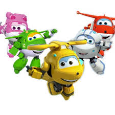 12pcs new style <b>2017 Mini Airplane</b> ABS Robot Toys Action Figures ...